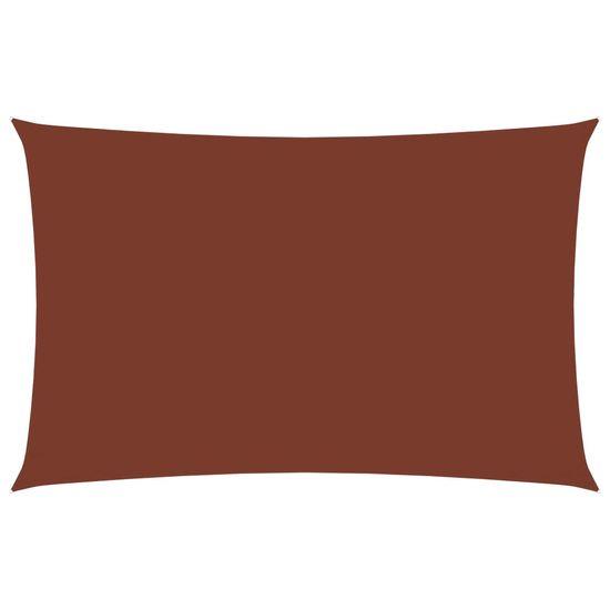 shumee Pravokotna vrtna jadra Oxford Cloth 3x6 m Terracotta