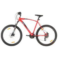 """Petromila Horský bicykel 21 rýchlostí 29"""" koleso 58 cm rám červený"""
