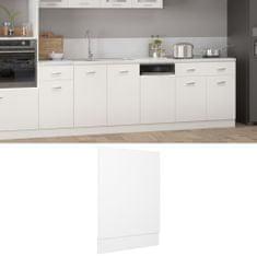 shumee Dvierka na umývačku, biele 45x3x67 cm, drevotrieska