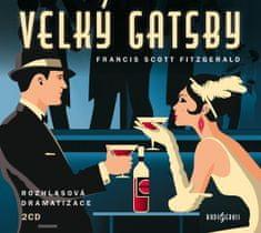 Fitzgerald Francis Scott: Velký Gatsby (2x CD)