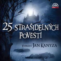 Various: 25 strašidelných pověstí - MP3-CD
