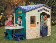 Little Tikes počitniška hiša z mizo za piknik Jungle