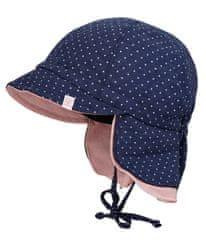 Maximo Baby kalap nyakvédővel lányoknak, 41, sötétkék