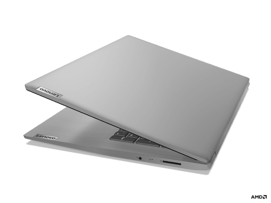 Lenovo IdeaPad 3 prenosnik, 43,9 cm HD+, R5 3500U, 8/256, W10, siv (81W2005RSC)