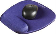 Kensington Podložka pod myš s pěnovou opěrkou zápěstí, modrá