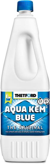 Thetford Kemikalija za prenosni in vgradni kemični WC Aqua Kem Blue 2l
