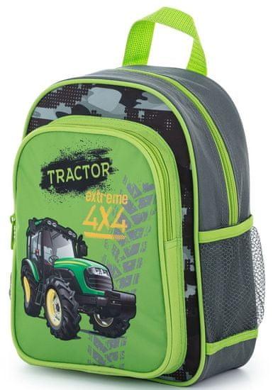 Karton P+P otroški predšolski nahrbtnik Traktor