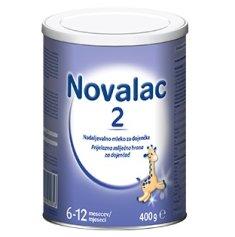 Novalac 2 nadaljevalno mleko, pločevinka, 400 g (3831061010816)
