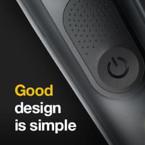 Braun MBMGK7 brivnik oblikovalska izdaja Napredno britje