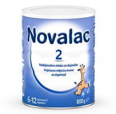 Novalac 2 nadaljevalno mleko, pločevinka, 800 g (3831061010854)
