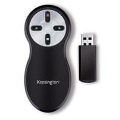 Kensington Dálkový ovladač, s laserovým ukazovátkem, bezdrátový, 33374EU