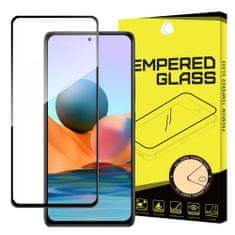 MG Full Glue Super Tough zaščitno steklo za Xiaomi Redmi Note 10 Pro, črna