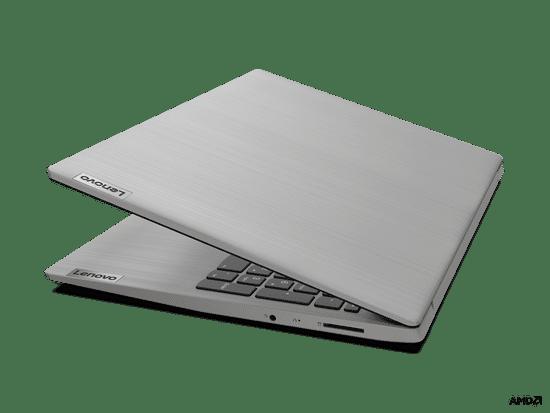 Lenovo IdeaPad 3 prenosnik, 39.6 cm FHD, 3050U, 4/256, DOS, siv (81W101CWSC)