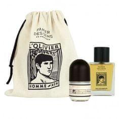 Panier des Sens DÁRKOVÝ SET přírodní kosmetiky - Deodorant & Eau de Parfum