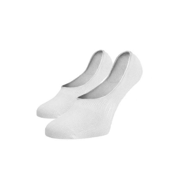 BENAMI Neviditelné ponožky ťapky bílé Bílá Bavlna 35-38