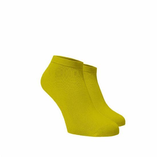 BENAMI Bambusové kotníkové ponožky Žluté Žlutá Bambus 35-38