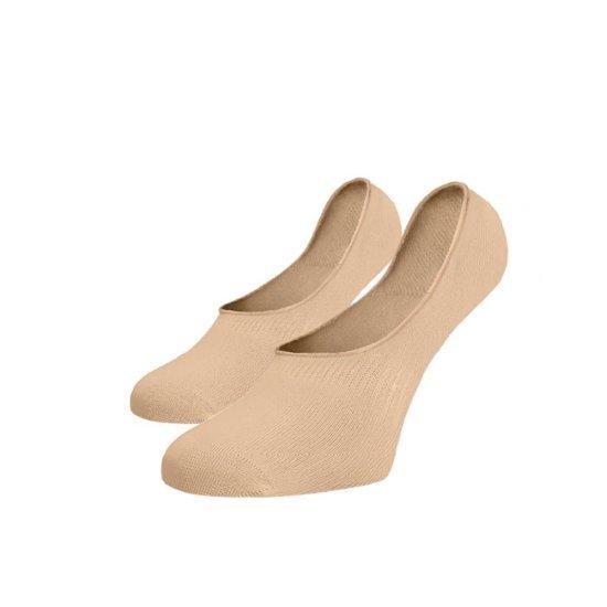 BENAMI Neviditelné ponožky ťapky tělové Béžová Bavlna 35-38