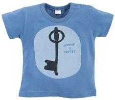 PINOKIO chlapecké tričko Summertime 1-02-2103-440C-CN 68 modrá