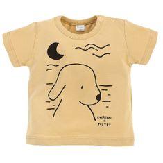 Pinokio Summertime 1-02-2103-440C-ZO fiú póló, 68, sárga
