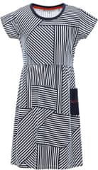 ALPINE PRO dekliška obleka Zenno, 152 - 158, temno modra