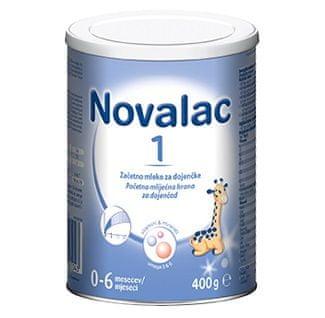 Novalac 1 začetno mleko, pločevinka, 400 g