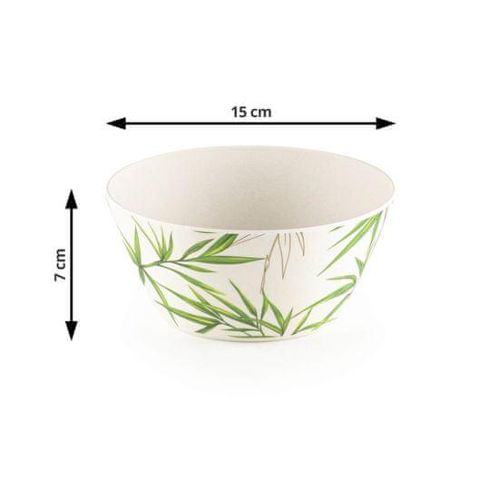 Rosmarino set za salate od bambusa, 7-dijelni