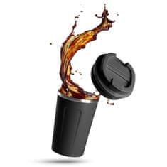 Rosmarino termo šalica za kavu, 350 ml, crna