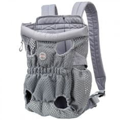 DogLemi nahrbtnik za nošenje psa, siv