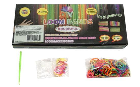 Unikatoy Loom set zapestnice, 600 kosov + dodatki (25507)