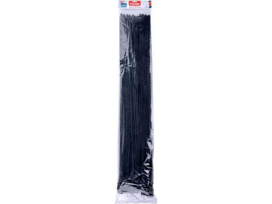 Extol Premium pásky stahovací na kabely černé