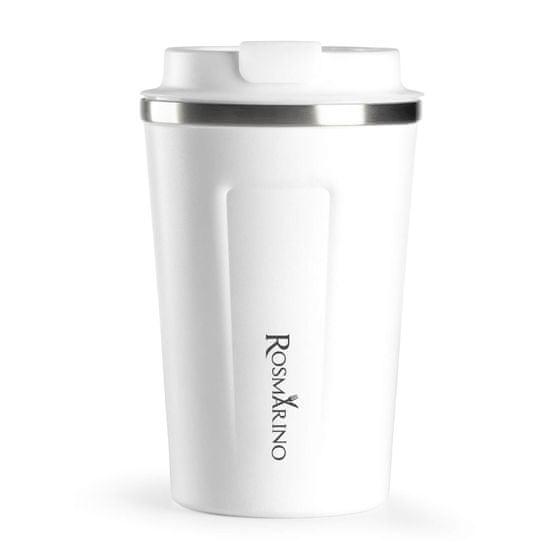 Rosmarino termo lonček za kavo, 350 ml, bel