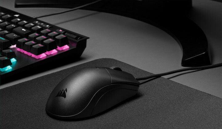 Corsair Ironclaw RGB gamer egér, fekete (CH-9307011-EU), nagy felbontású DPI, könnyű, optikai érzékelő, teljesítmény, ergonómia