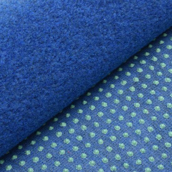 shumee Sztuczna trawa, spód z wypustkami, 2x1 m, niebieska