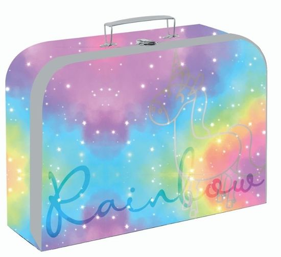 Karton P+P laminiran kovček OXY Style Mini rainbow, 34 cm
