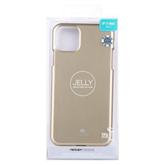 Goospery Jelly ovitek za Samsung Galaxy S20+, silikonski, zlat