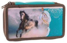 Stil dvonadstropna šolska peresnica Wild Horse