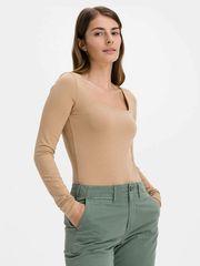 Gap Majica organic cotton squareneck Bodisuit L