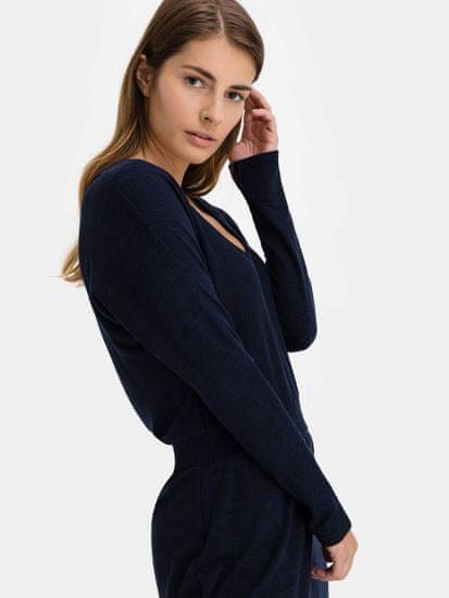 Gap Obleka softspun banded waist dress
