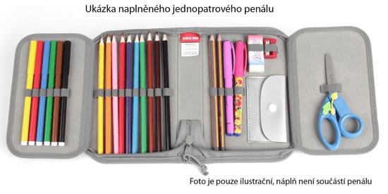 Stil Iskolai egy emeletes tolltartó Best car