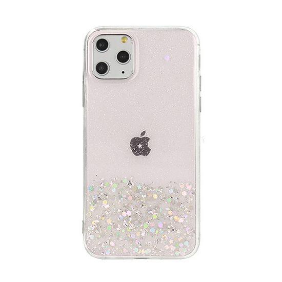 Sparkle maskica za iPhone 7/8/SE, silikonska, ružičasta