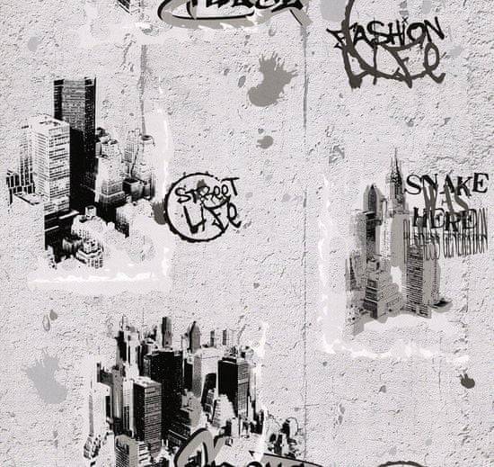 A.S. Création 6840-11 Dětské tapety na zeď BOYS AND GIRLS 3 684011