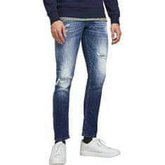 Jack&Jones JJIGLENN JJFOX Slim Fit 12185918 Blue Denim (Velikost 32/32)