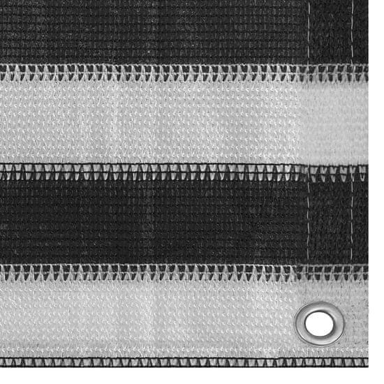 shumee Šotorska tla 250x450 cm Antracitno bela