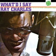 Charles Ray: What'd I Say (mono) - LP