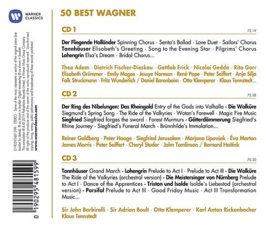 50 Best Wagner (3x CD) - CD
