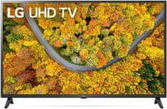 LG 43UP75003L televizor, 4K Ultra HD, 108 cm (43)