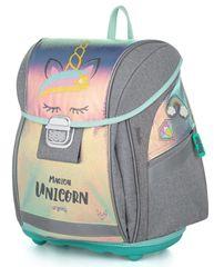 Karton P+P Premium Light Unicorn iconic anatomska šolska torba