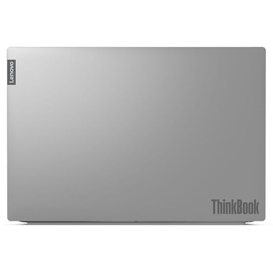 Lenovo ThinkBook 15 prenosnik, i7 / 16 GB / 512 GB SSD / 39.6 cm FHD / Windows 10 Pro, siv (20-SM33-3J-P)