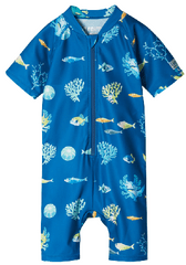 Reima fiú kezeslábas fürdőruha Atlantti, 98, kék