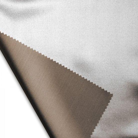 Naturaland Velika Svilena posteljnina SVETLO RJAVA - Saten svila / 28 momme (mm)